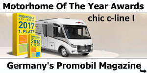 Carthago Chic C-Line I Wins at Promobil Magazine Awards