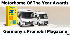 Promobil Magazine Motorhome Of The Year Awards