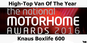 Knaus Boxlife 600 High-Top Van of the Year