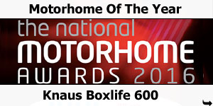 Knaus Boxlife 600 Motorhome of the Year