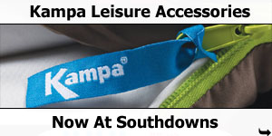 Kampa Leisure Accessories Now at Southdowns