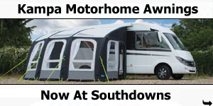 Kampa Motorhome Awnings Now at Southdowns