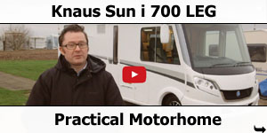 Knaus Sun I 700 LEG Review by Practical Motorhome