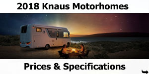 2018 Knaus Motorhome Prices and Specifications