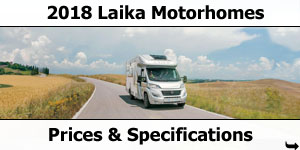2018 Laika Motorhome Prices and Specifications