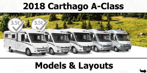 2018 Carthago Low-Profile Motorhomes