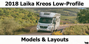 2018 Laika Kreos Low-Profile Motorhomes Models and Layouts