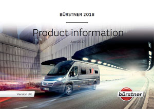 2018 Burstner City Car Camper Vans Brochure Downloads