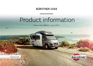 2018 Burstner Motorhome Brochure Downloads