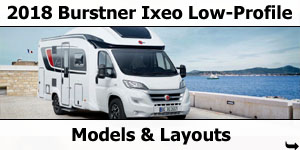2018 Burstner Ixeo TL Motorhomes Models and Layouts Motorhomes