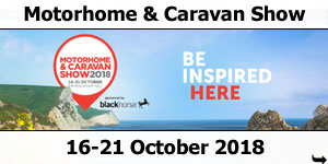 2018 Caravan and Motorhome Show 16-21 October 2018
