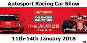 Concorde at 2018 Autosport Motorsport Show 11-14 January 2018