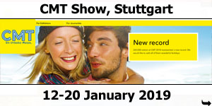 CMT Holiday Show Stuttgart 12-20 January 2019