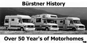 Burstner  - Over 50 Years of Motorhome History