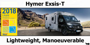 2019 Hymer Exsis-T Low-Profile Motorhome For Sale
