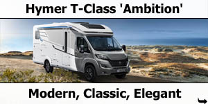2019 Hymer T-Class Ambition Low-Profile Motorhome For Sale