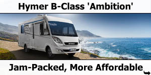 2019 Hymer B-Class CL Ambition A-Class Motorhome For Sale