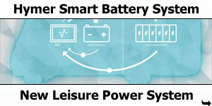Hymer Smart Battery Power System Technology