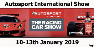 Autosport International Show, NEC, Birmingham, 10-13th January 2019