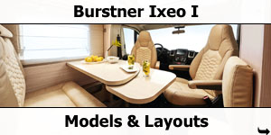 2019 Burstner Travel Van Models and Layouts
