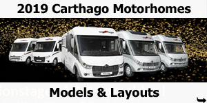 2019 Carthago Motorhomes Models and Layouts