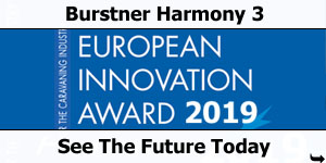 Burstner Harmony 3 European Innovation Award