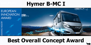 Hymer B-MC I European Innovation Award