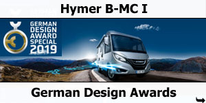 Hymer B-MC I German Design Award