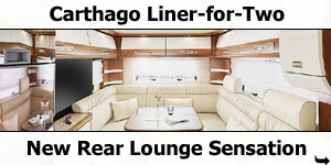Carthago Liner-for-Two Now in Stock at Southdowns