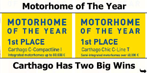 Motorhome of The Year Awards 2019 Promobil