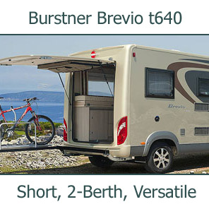 Burstner Brevio t640 Special Offer