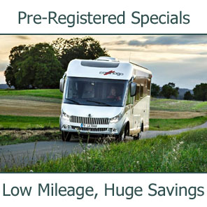 Pre-Registered Carthago Special Offer Motorhomes