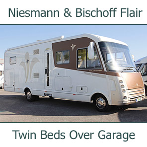 Used Niesmann + Bischoff Flair 8000i CEBW Iveco Daily 3.0L Automatic Luxury A-Class Motorhome U200842