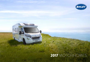 2017 Bailey Motorhome Brochure Downloads