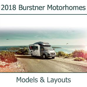 2018 Burstner Motorhomes Models and Layouts