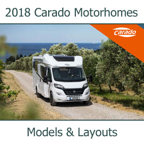 2018 Carado Motorhomes Models and Layouts