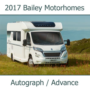 2017 Bailey Motorhomes For Sale