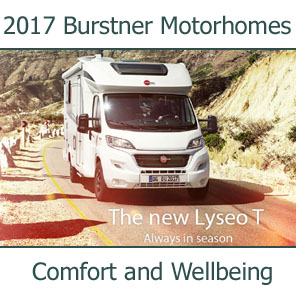 2017 Burstner Motorhomes For Sale