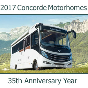 2017 Concorde Motorhomes For Sale