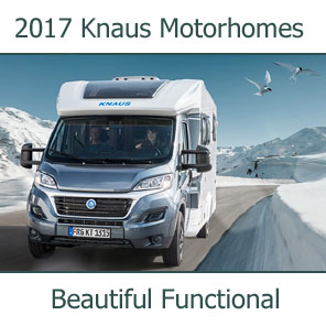 2017 Knaus Motorhomes For Sale