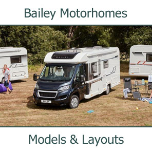 2018 Bailey Motorhomes Models and Layouts