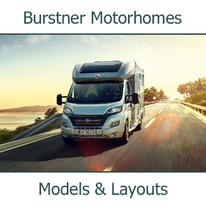 2019 Burstner Motorhomes Models and Layouts