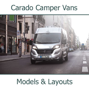 2019 Cardo Camper Vans Models and Layouts