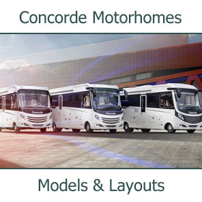 2019 Concord Motorhomes Models and Layouts