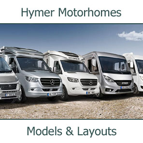 2019 Hymer Motorhomes Models and Layouts