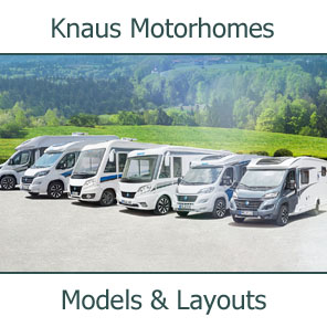 2019 Knaus Motorhomes Models and Layouts