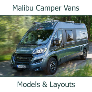 2019 Malibu Camper Vans Models and Layouts