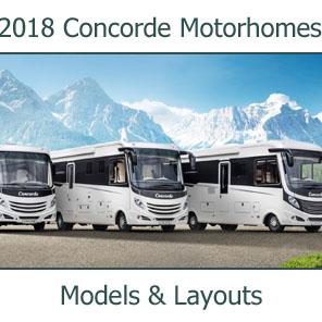 2018 Concord Motorhomes Models and Layouts