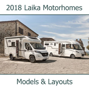 2018 Laika Motorhomes Models and Layouts