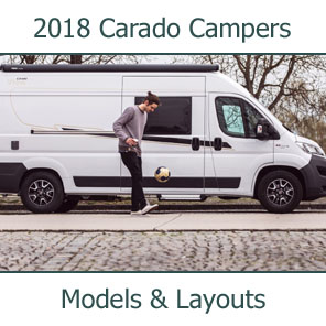 2018 Cardo Camper Vans Models and Layouts